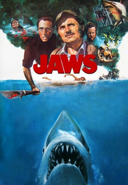 Poster película tiburón Jaws
