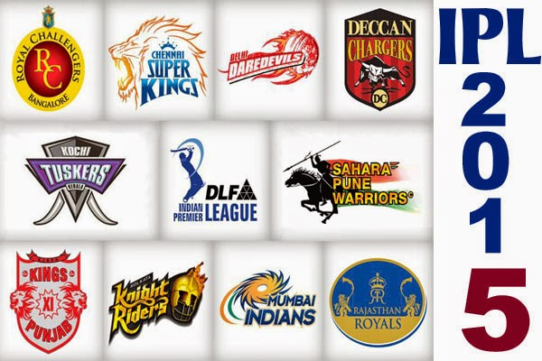 IPL 2015 Players list