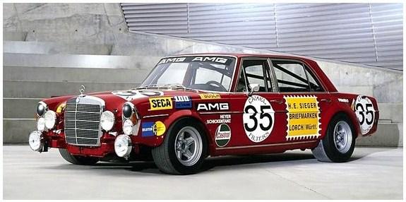 AMG Mercecedes 300 SEL 6.8 de 1971 ganador de las 24 horas de SPA