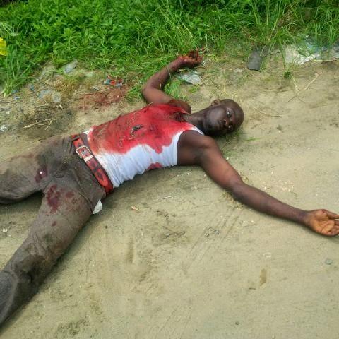 A Member Of An Armed Robbery Gang Shot Dead In Warri
