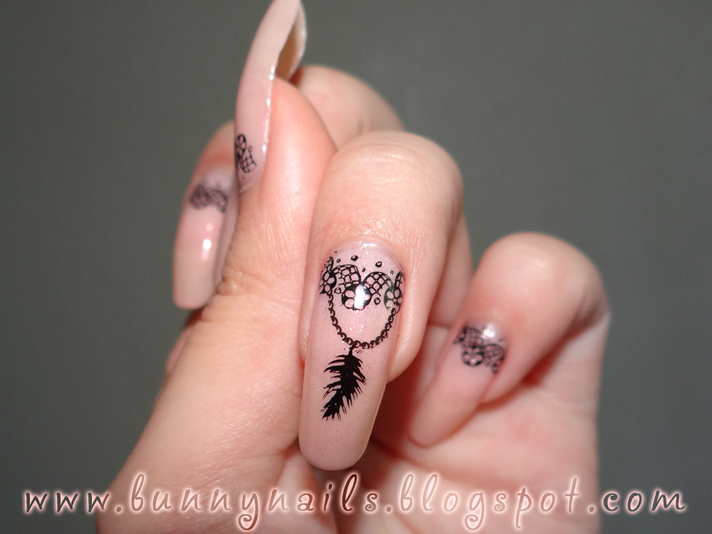 Bunny Nails: Challenge: Using a French Tip Design