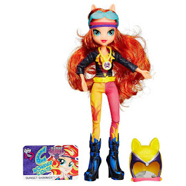 MLP Equestria Girls Friendship Games Sporty Style Deluxe Sunset Shimmer Doll