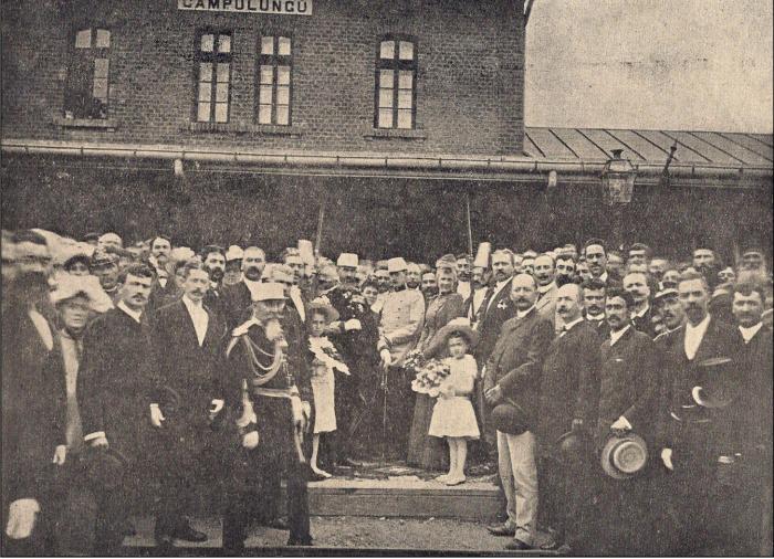 Regele Carol I in vizita in Campulung Muscel
