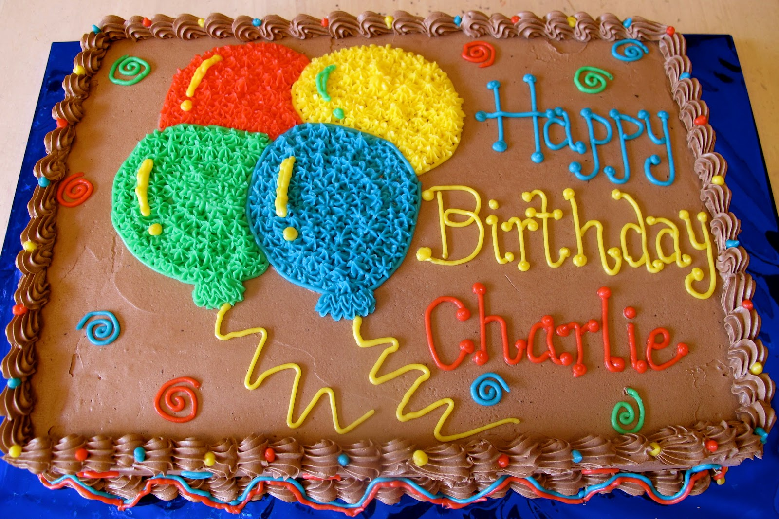 Birthday Cake Decorated With Balloons : Tortelicious: Balloon Birthday Cake & Cake of The Week ...