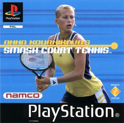 Anna Kournikova Smash court Tennis PSONE