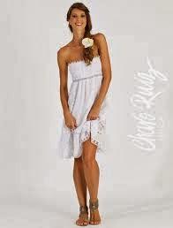 vestido corto estilo adlib, para eventos en la playa