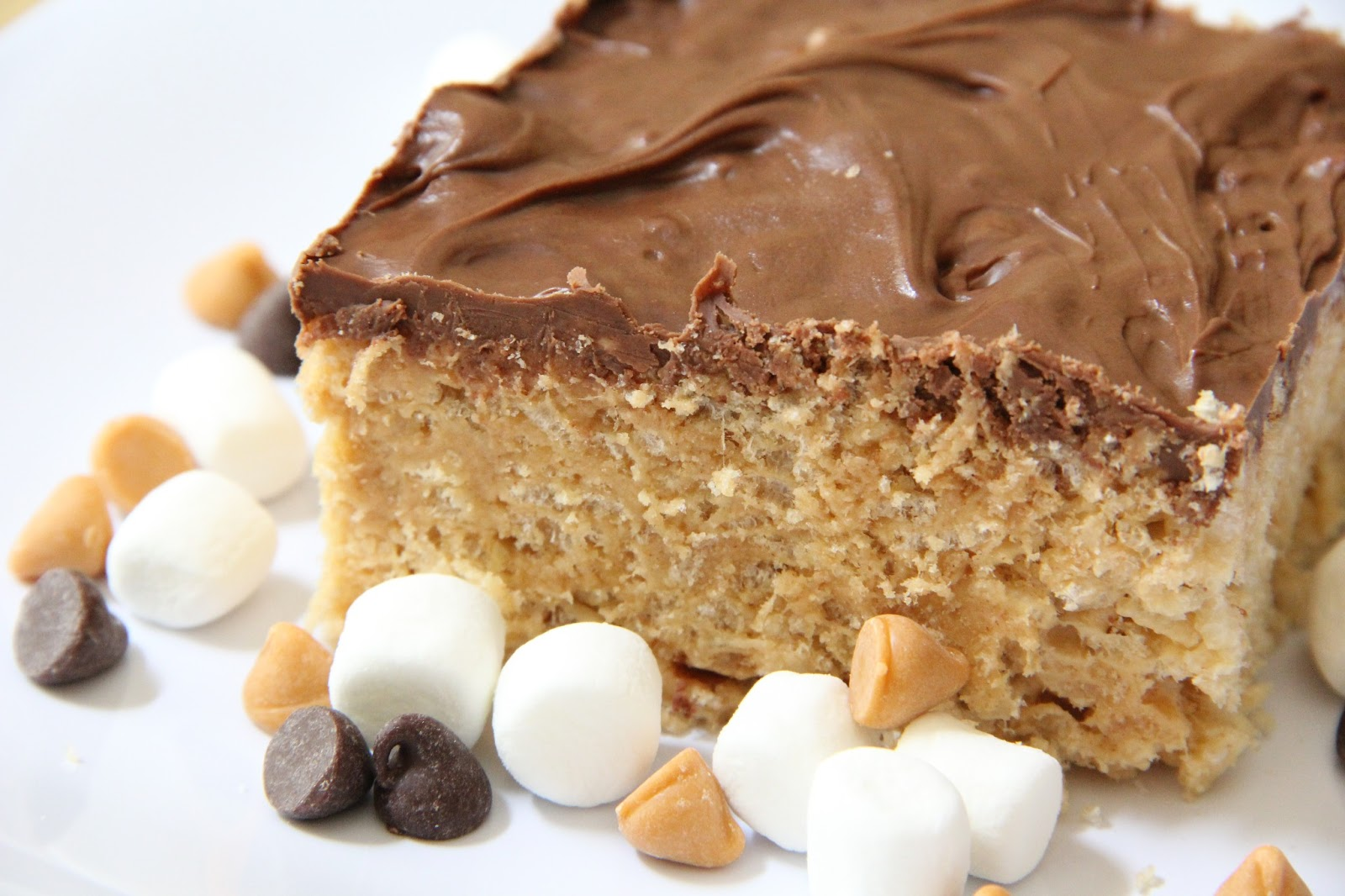 Mix and Match Mama: Chocolate & Butterscotch Rice Krispies Treats
