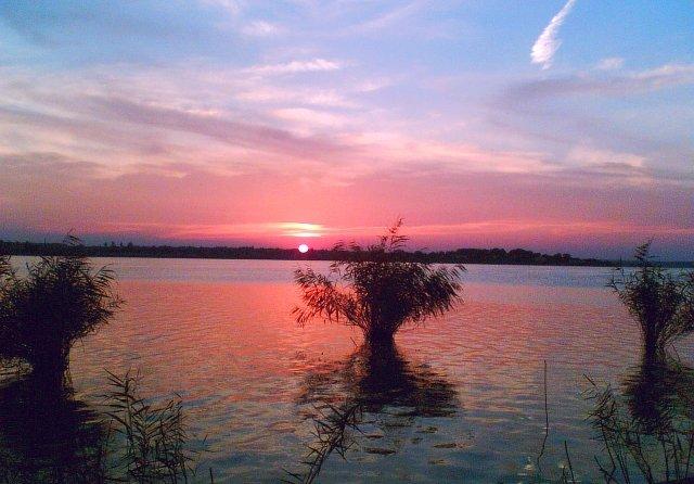 Lacul Siutghiol la apus