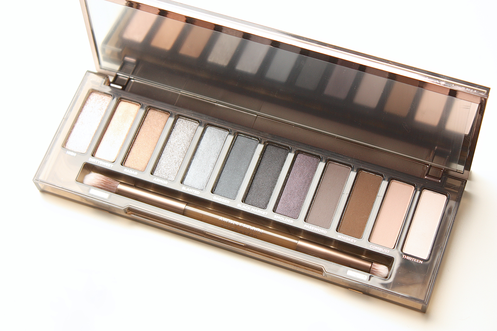 Urban decay smoky palette макияж