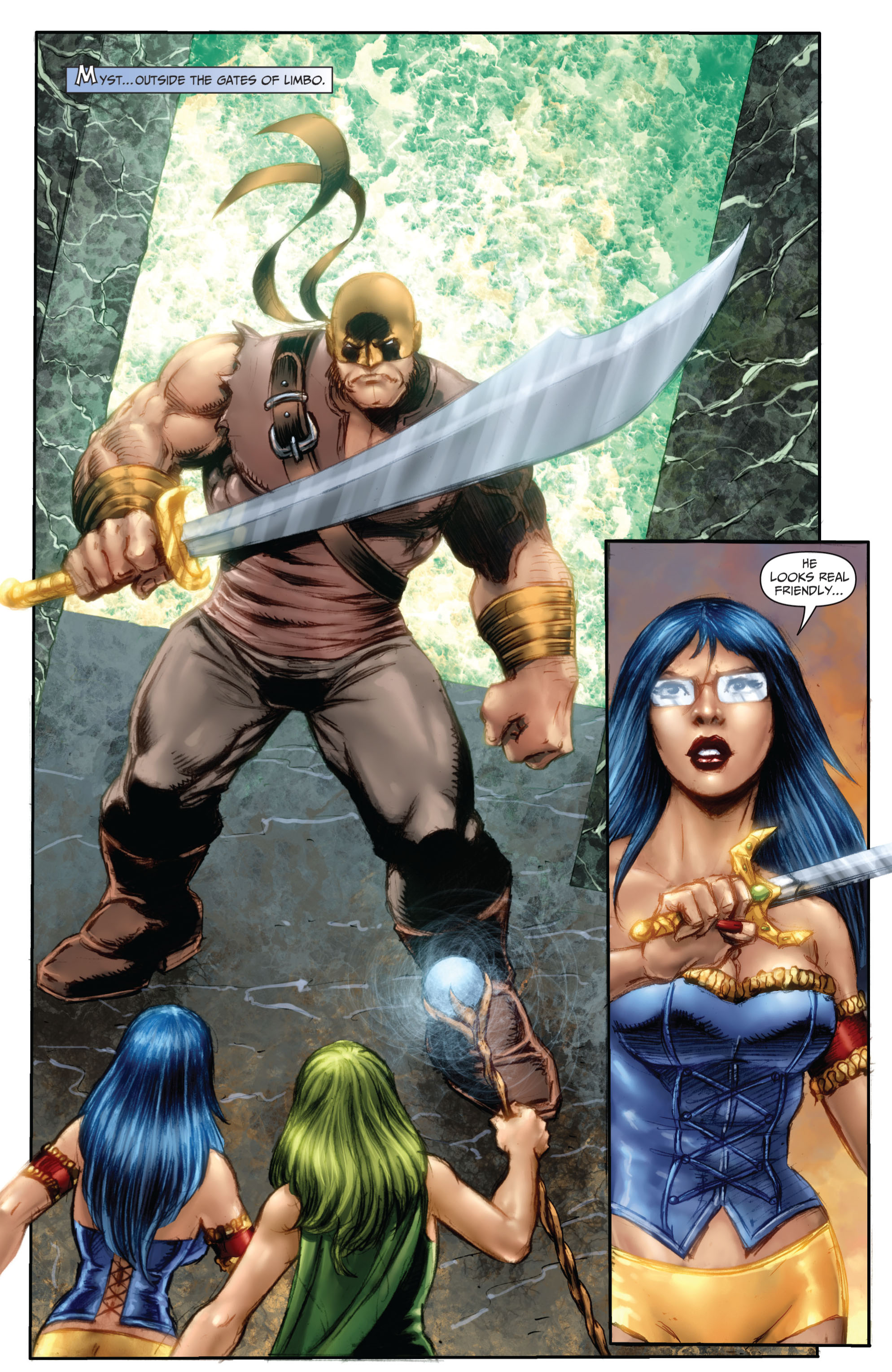 Grimm Fairy Tales (2005) Issue #67 #70 - English 3