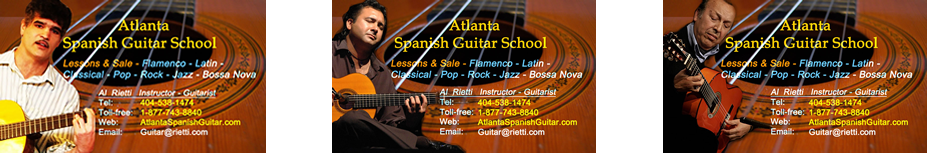 Atlanta Spanish Guitar School - Lessons and Sale