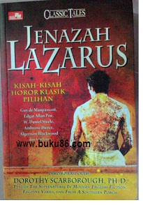 Novel Jenazah Lazarus by Dorothy Scarborough