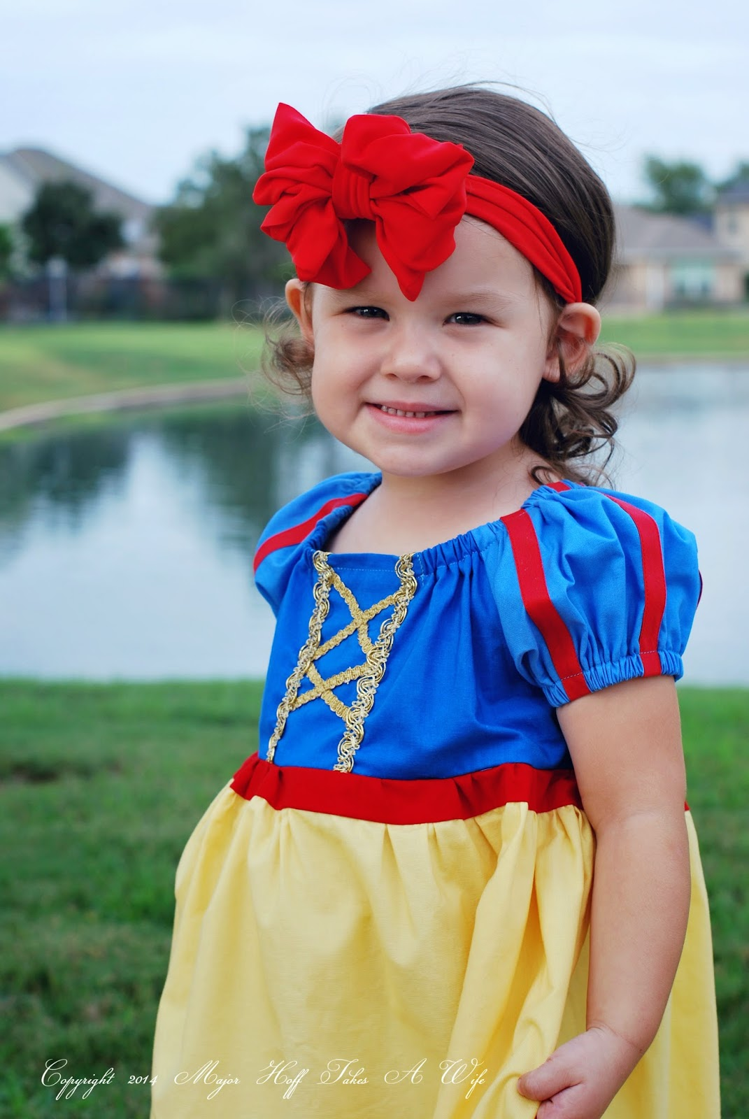 Girls Boutique Snow White dress