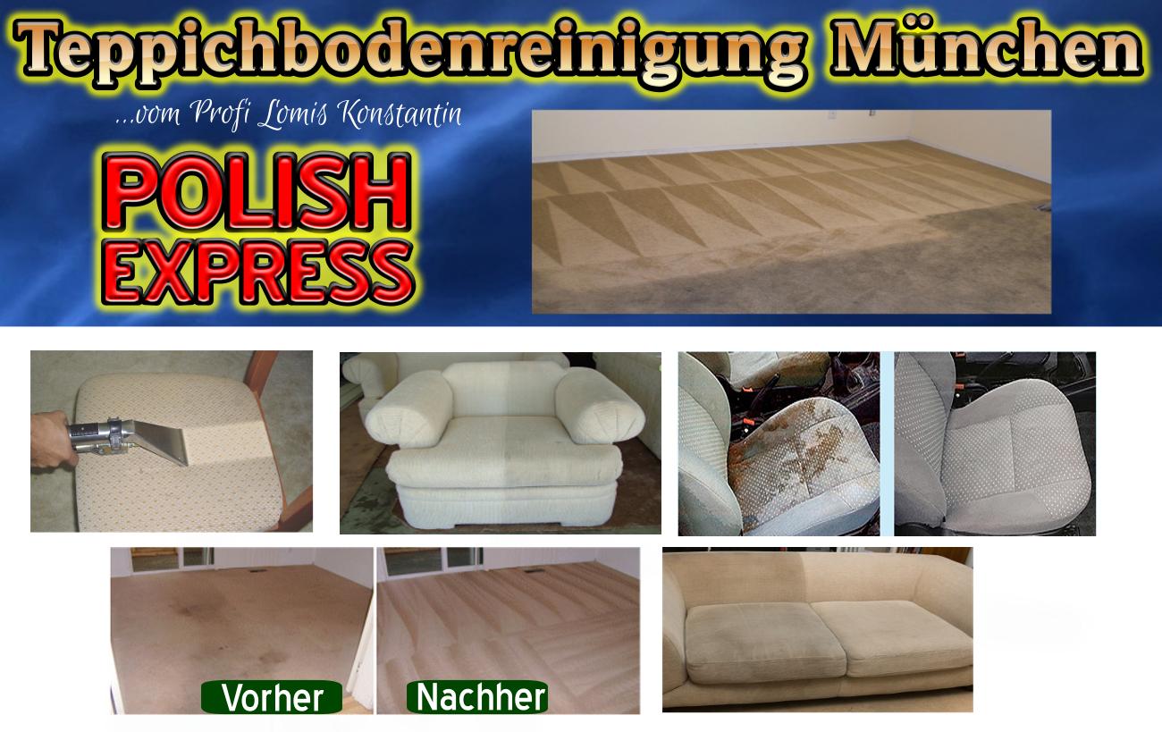 Teppichbodenreinigung München vom Profi