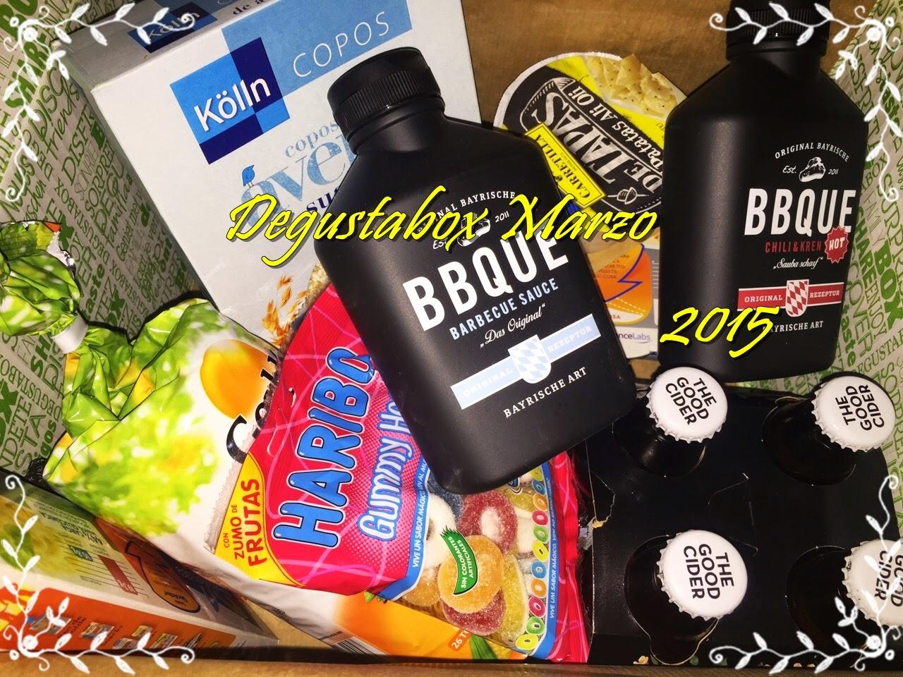 Degustabox Marzo 2015