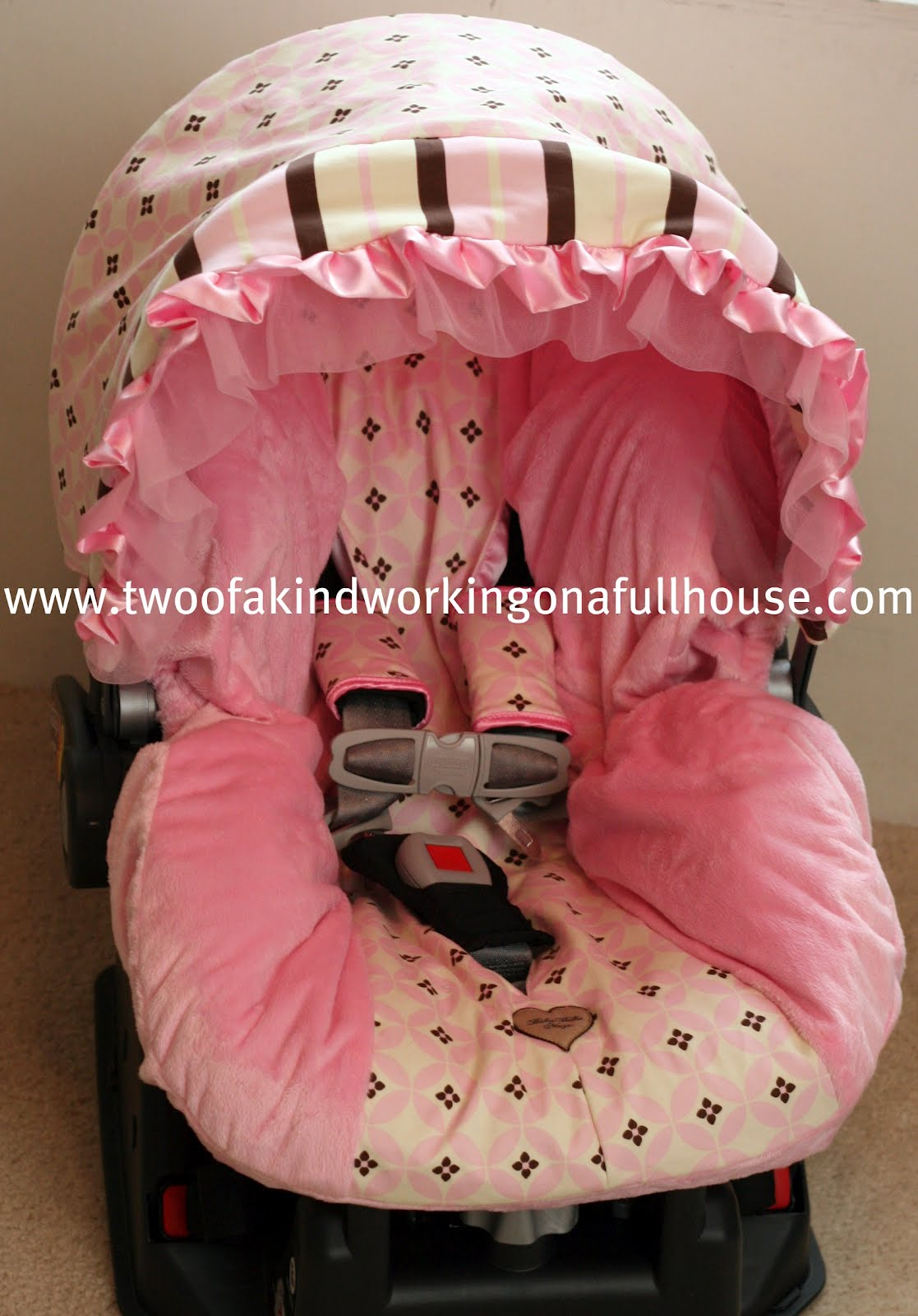 Baby Bella Maya - Infant Car Seat Cover + Giveaway   Two of a kind