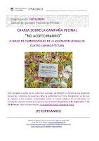 """Campaña """"No acepto Madrid"""""""