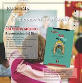 Presentación del libro ASÍ VIMOS MÉXICO [2015]
