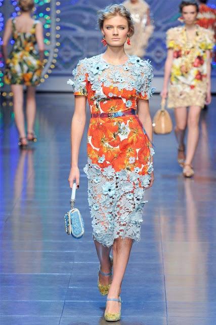 dolce gabbana23 - Dolce&Gabbana Ilkbahar 2012 | Milan Moda Haftas�