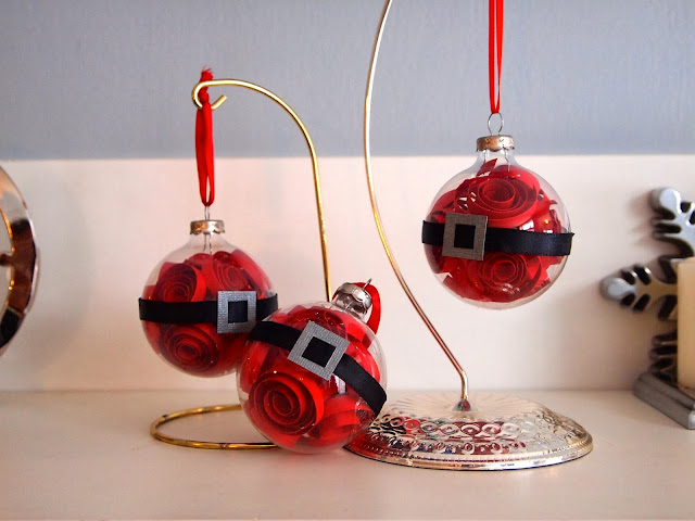 Craft Room Confidential - Santa Ornament