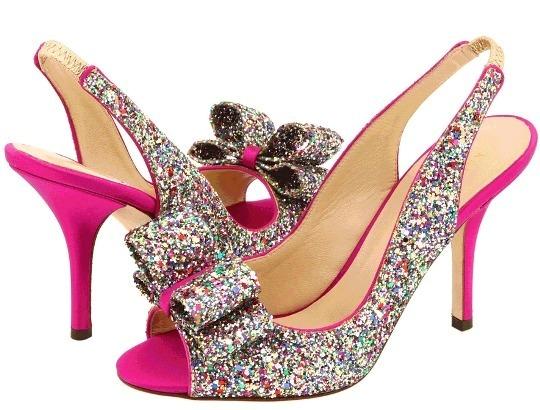 sweet home wedding shoe purchase kate spade charm in multi glitter
