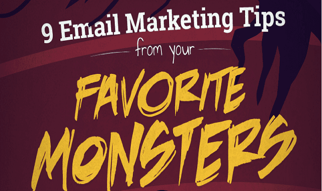 9 Email Marketing Tips From Your Favorite Monsters
