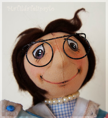 Авторская кукла-бабушка Юлии Телипайло