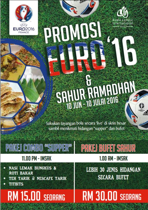 Promosi Euro 16 Di KLI Hotel International