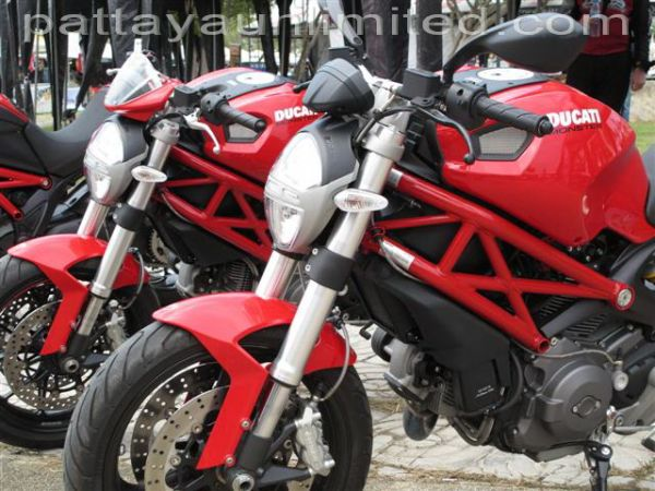 ducati monster Pattaya Thailand
