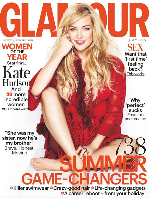 Actress @ Kate Hudson - Glamour UK, July 2015