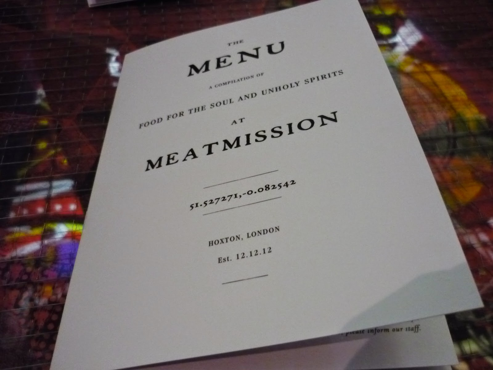 Meat Mission, Shoreditch - London restaurant review
