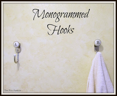 Anthropologie Monogrammed Hooks
