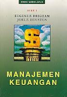 toko buku rahma: buku MANAJEMENA KEUANGAN, pengarang eugene f. brigham, penerbit erlangga
