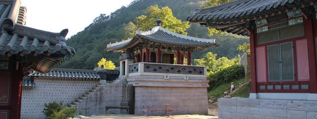 Set de rodaje de dramas coreanos históricos en Mungyeong