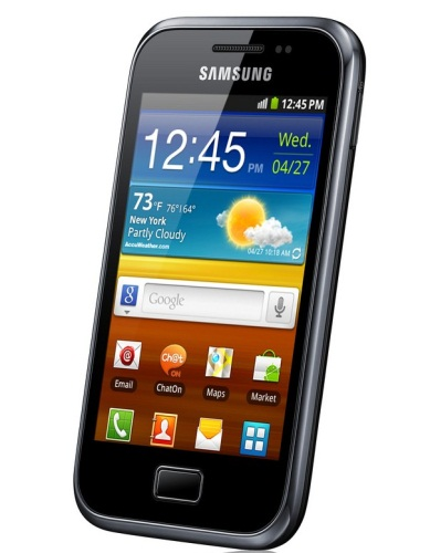 Samsung Galaxy Ace Plus con Gingerbread compatible con Android ICS