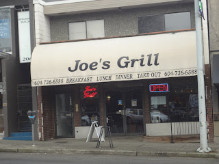 joe's grill, kitsilano, 4th ave, vancouver