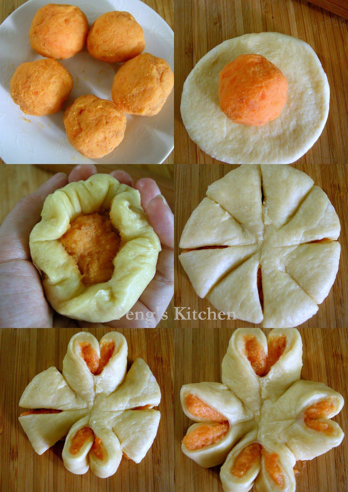 Peng's Kitchen: Sweet Potato Buns