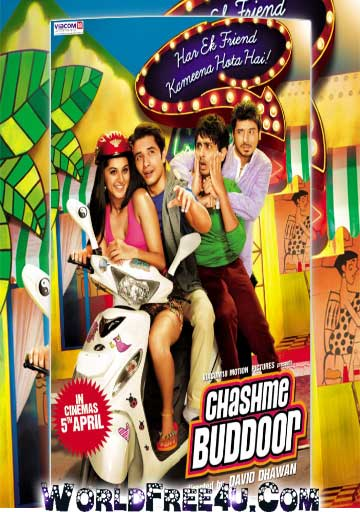 Poster Of Hindi Movie Chashme Baddoor (2013) Free Download Full New Hindi Movie Watch Online At worldfree4u.com