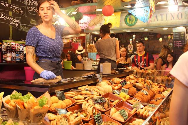 Empanada | St Josep La Boqueria | Barcelona | Chichi Mary Blog