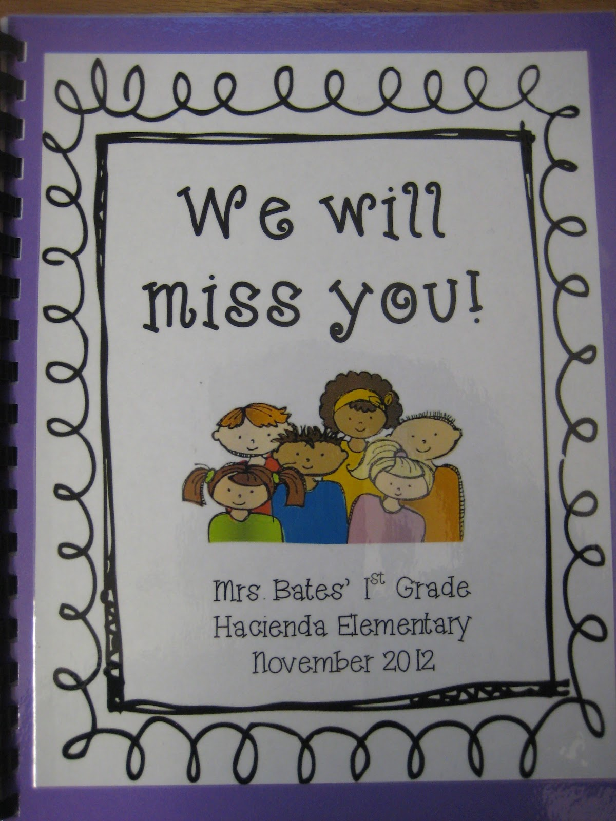 Teacher Goodbye Clip Art We each wrote a goodbye letter