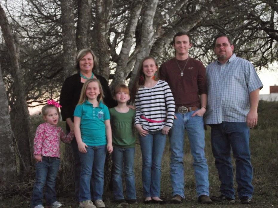 Our Family Minus 2 Kids.