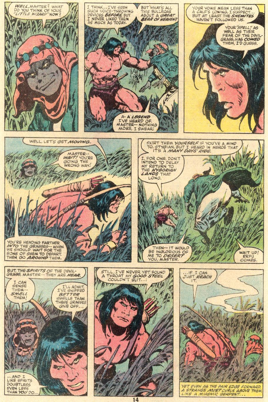 Conan the Barbarian (1970) Issue #109 #121 - English 9
