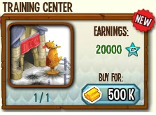 Panduan Dragon Training Center di Game Dragon City