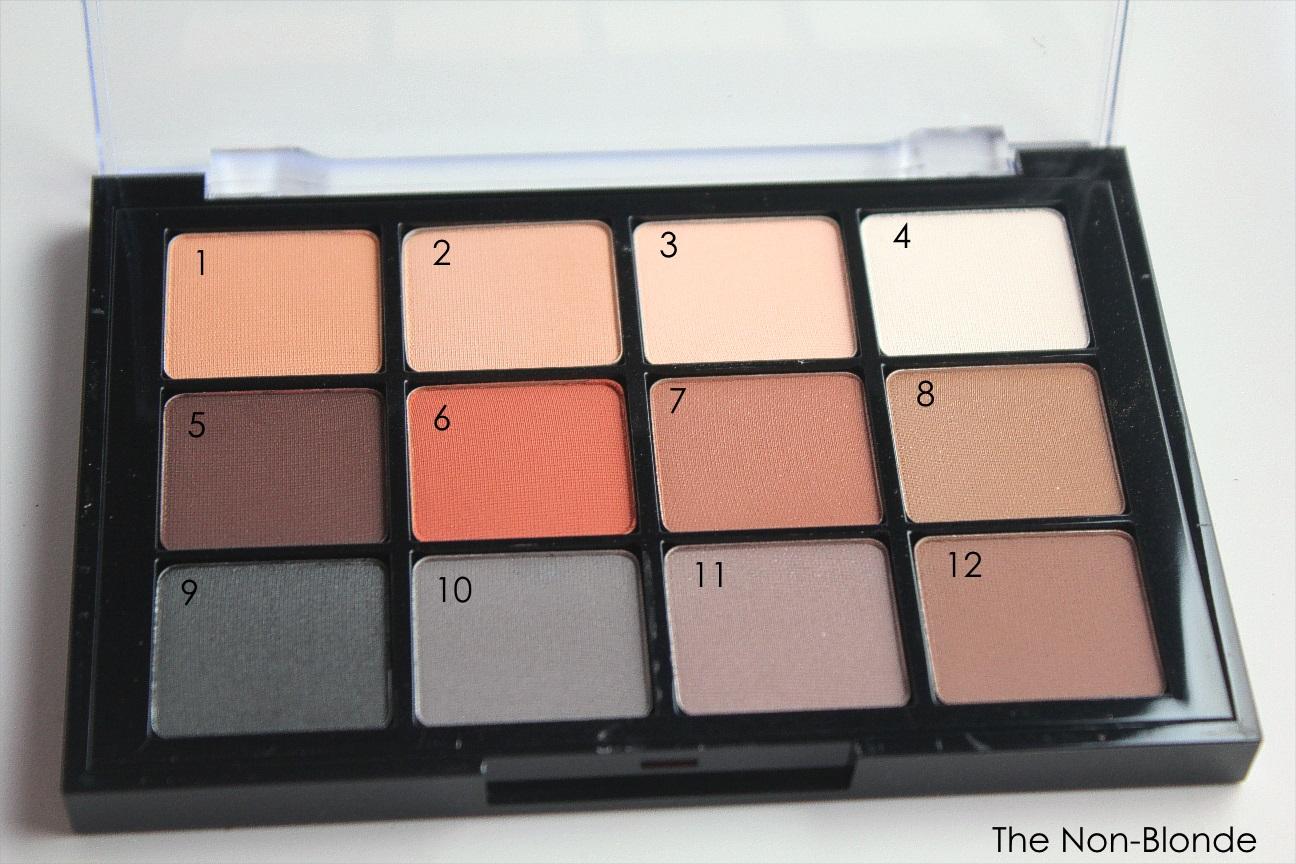 Viseart 01 Neutral Matte Eye Shadow Palette | The Non-Blonde
