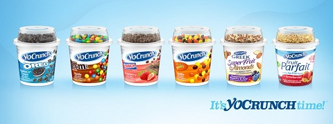 YoCrunch yogurts