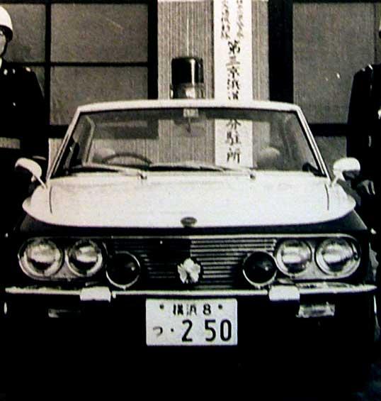 Nissan Silvia CSP311, policja, police car, oldschool, klasyczny, クラシックカー、国内専用モデル、日産