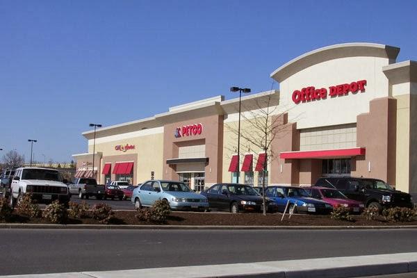 Golden ring shopping center