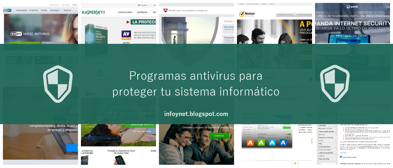 Programas antivirus para proteger tu sistema informático