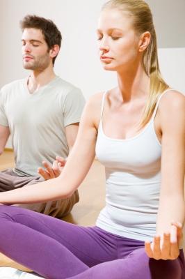 Meditando en pareja