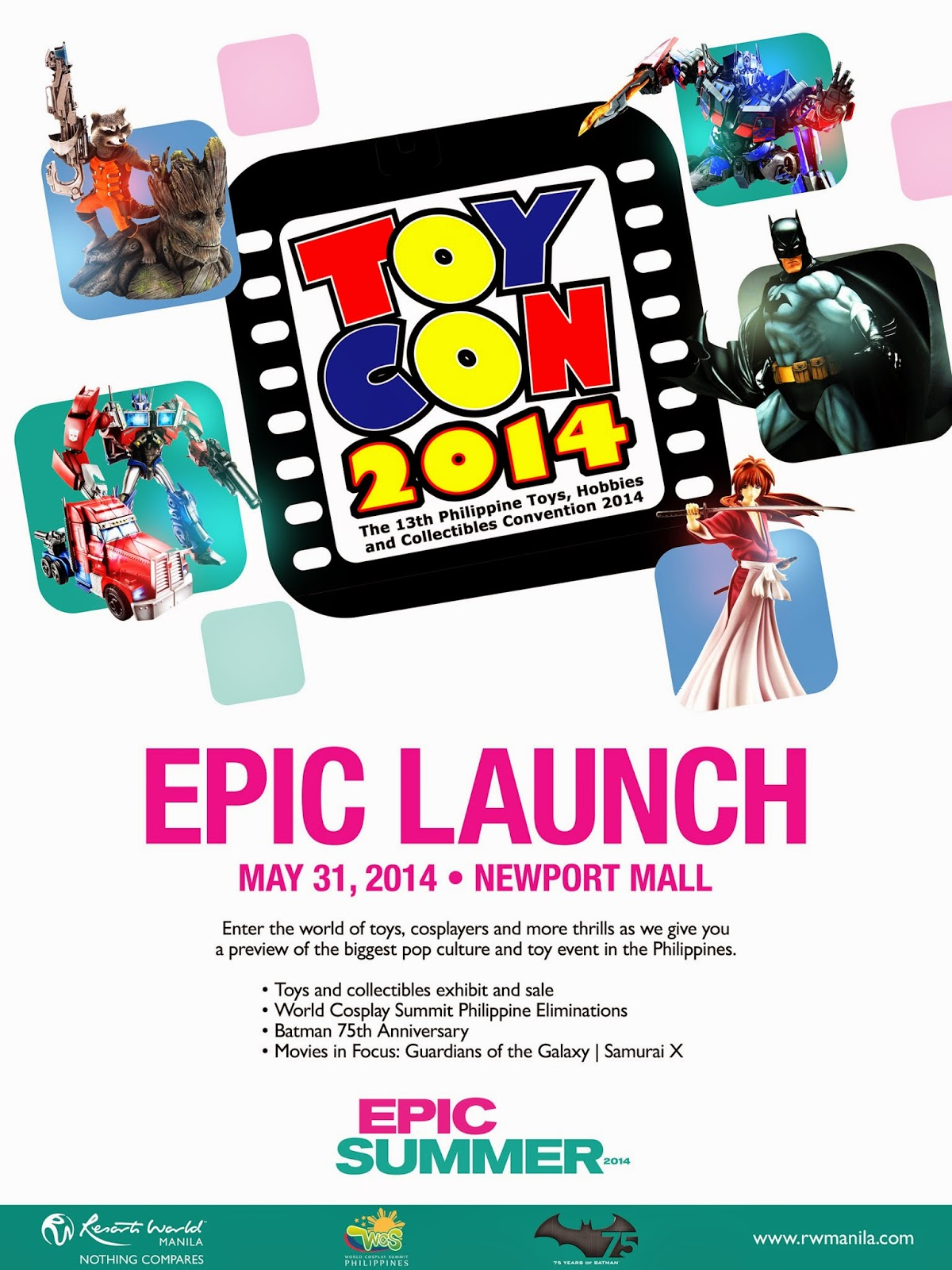 Toycon 2014 Press Launch Poster